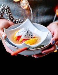 nage d agrumes sablés chocolat 6 idées de desserts de fête
