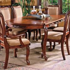 Steve Silver Company Harmony Burnished Medium Cherry Wood Extending Dining Table