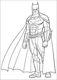 Free Printable Coloring Pages Batman And Robin Dark Knight Rises
