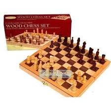 Image Is Loading Classic Wooden Chess Game Set 10 5 034