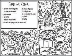 Centro Restaurant Kids Menu Weston Dental Waiting Room Coloring Page