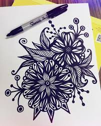 I Had A Free 15 Mins So This Is What Came Of It Zentangle