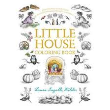 Little House Coloring Book Paperback Laura Ingalls Wilder