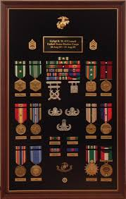 Customized Military Award Displays
