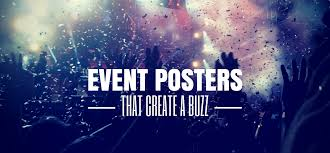 25 Ways To Design An Awesome Poster And Create A Buzz For Your Next Event