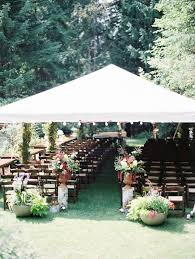 Backyard Bohemian Wedding Ceremony More