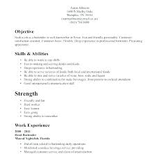 Resume Examples Waitress This Is Example Samples Tremendous Resumes