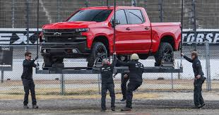 First Look: 2019 Chevy Silverado Uses Steel Bed To Tackle F-150 New 2018 Chevrolet Silverado 2500hd Work Truck Crew Cab Pickup 2019 Chevy Promises To Be Gms Nextcentury Truck 1500 L1163 Freeland Auto Offers The In Eight Trim Levels Across Three Gm Reportedly Moving Carbon Fiber Beds In The Great Uerstanding And Bed Sizes Eagle Ridge 1947 Gmc Brothers Classic Parts Chevys Colorado Zr2 Bison Is For Armageddon Wired 2wd Reg 1190 At 4wd Double 1435 800horsepower Yenkosc Performance
