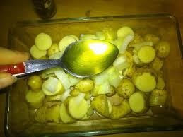 patates rôties au four mont d or cuit ou boite chaude sans