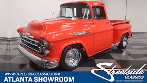 1957 Chevrolet 3100 For Sale #98011 | MCG 1957 Chevrolet Pick Up Truck 3100 Pickup Snow White Street The Grand Creative Rides For Sale 98011 Mcg A Pastakingly Restored Is On Display At Rk Motors Near O Fallon Illinois 62269 Cameo 283 V8 4 Bbl Fourspeed Youtube 2000515 Hemmings Motor News Flatbed Truck Item Da5535 Sold May 10 Ve Oneofakind With 650 Hp Heads To Auction Bogis Garage Cadillac Michigan 49601