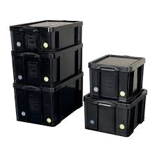 Really Useful Storage Box Plastic Lightweight Robust Stackable