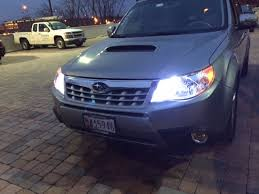 09 13 led daytime running lights to replace high beams subaru