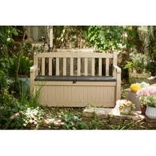 Rubbermaid Patio Storage Bench by Deck Boxes U0026 Patio Storage