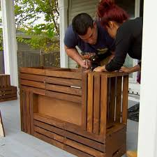 find out how to make a wine crate coffee table with this hack from