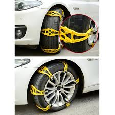 100 Snow Chains For Trucks Car Anti Slip Tire 4 Nails Tire Emergency Winter Driving