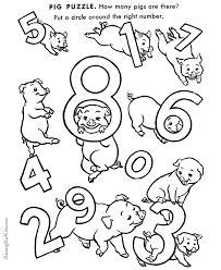 Preschool Printables For Kids