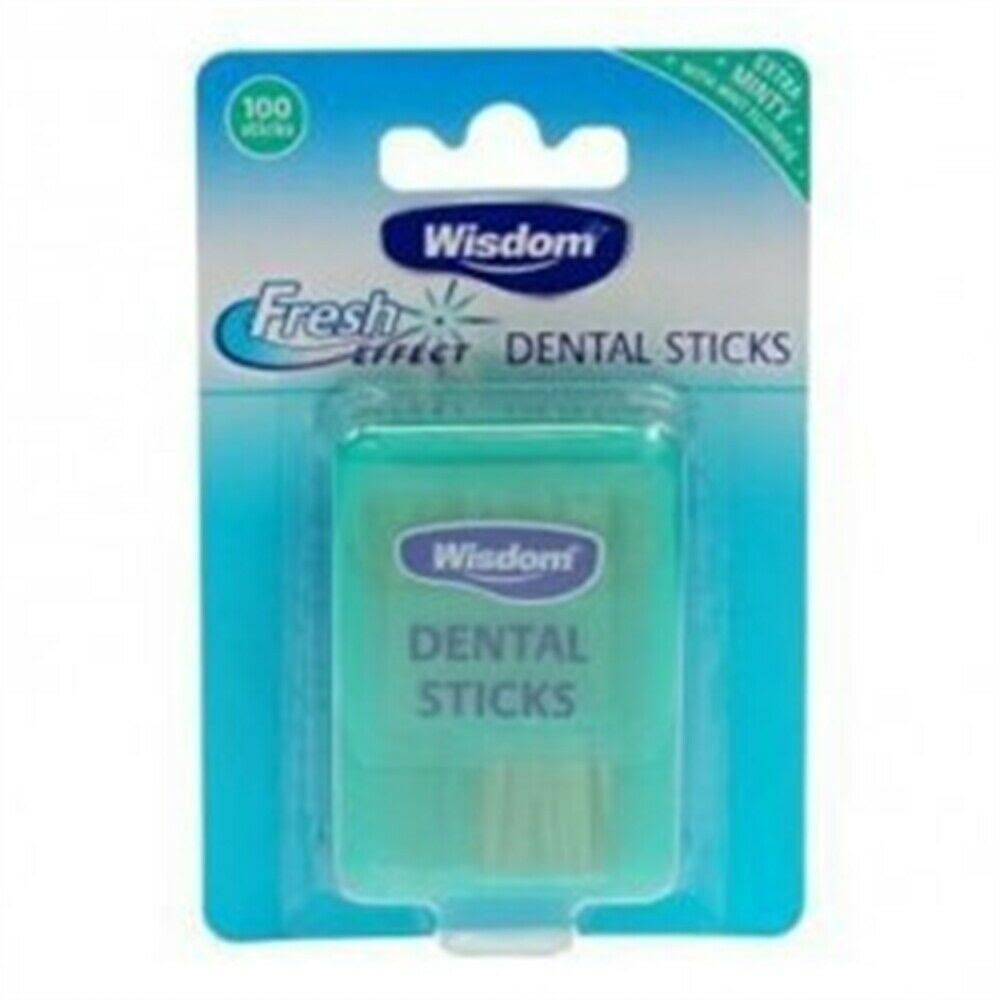 Wisdom Fresh Effect Dental Sticks - 100 Pack