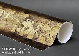 Solyx Decorative Window Films by Picture Of Solyx Sx 6050 Antique Gold Mirror 59