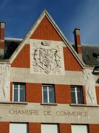 chambre de commerce bethune la chambre de commerce de cambrai vitrine de la reconstruction