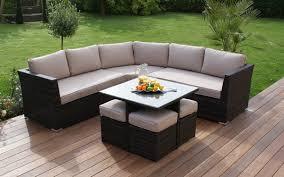 patio sofa dining set chic corner patio dining set jamaican outdoor wicker patio