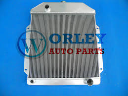 100 1950 Ford Truck Parts NEW ALUMINUM RADIATOR 1949 1951 1952 1953 Ford Truck With Chevy