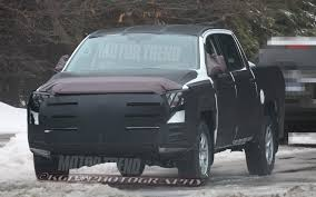 100 Toyota Full Size Truck 2014 Tundra Spied Official Reveal At Chicago Auto Show