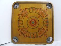 Beautiful Vintage 1902 Wooden Carrom Game Board 7500 Via Etsy