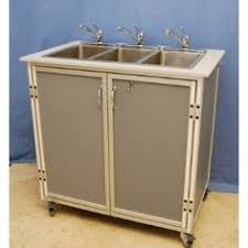 Ozark River Portable Hand Sink by Ozark River Portable Sink Stainless Top With Single Deep Bowl