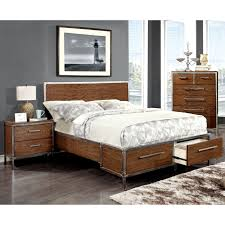 Sears Platform Beds by Oak Queen Platform Bed With Drawers