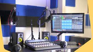 Radio Station Equipment For A Professional Studio Setup New Header