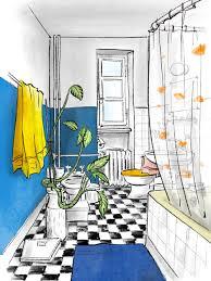 zeichnen im badezimmer usk luzern