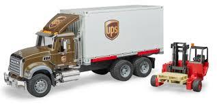 100 Semi Truck Toy MACK GRANITE BRUDER UPS TRUCK