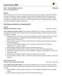 Junior Project Manager Cv Example Uk