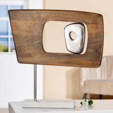 gilde dekoobjekt skulptur marcire rechteckig 1 stück höhe 48 cm aus holz und metall wohnzimmer kaufen otto