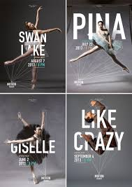 Ballet And Dance Posters For Motion Theater By Caroline Grohs