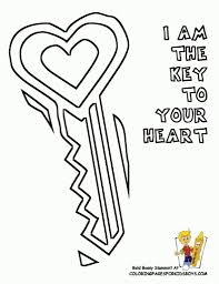 For Kids Download Key Coloring Page Printable 38 In With