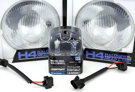 ipf h4 headlight conversion for jeep wrangler jk ok4wd