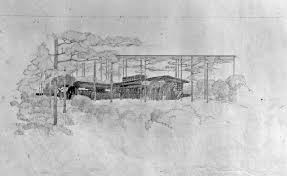100 Frank Lloyd Wright Sketches For Sale Designed Usonian Automatic House On The