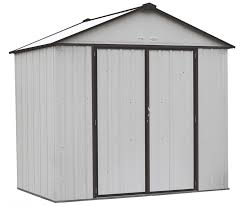 Shelterlogic Run In Sheds by Arrow Storage Products Ezee Shed Extra High Gable Cream