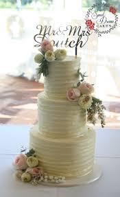 White Chocolate Rustic Wedding Cake With Fresh Flowers Perthcustomcakes Perthweddingcakes