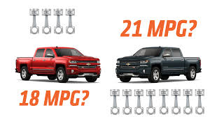 100 Mpg For Trucks The FourCylinder Chevy Silverado Got Worse MPG Than The V8 Because