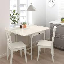 ingatorp ingolf tisch und 2 stühle weiß weiß