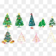 Kinds Of Christmas Trees by Variety Of Christmas Tree And Border Christmas Christmas Tree