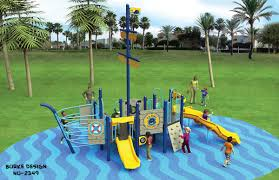 100 Design A Pirate Ship Themed Playground Play Equipment Set