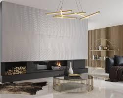 natur texturen und gold in einem exklusiven wohnzimmer