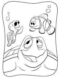 Finding Nemo More Coloring Pages