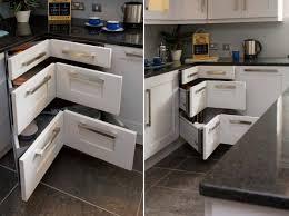Kitchen Unit Ideas 20 Corner Cabinet Ideas That Optimize Your Kitchen Space