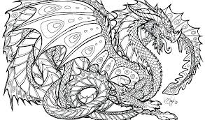 Fire Breathing Dragon Coloring Page C4400 Pages