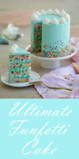 The Ultimate Funfetti Cake