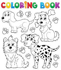 Puppy Dog Coloring Pages Printable Book Ideas The Lucky Pet